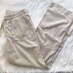 PrAna hemp blend pants Oatmeal Sm